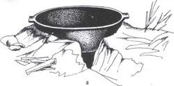 Древний очаг - прообраз современного камина