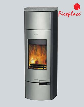 Fireplace Prato Silver, печь