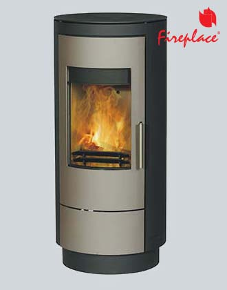 Fireplace Rouge In Silver, печь
